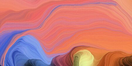 abstract fractal swirl motion waves. can be used as wallpaper, background graphic or texture. graphic illustration with light coral, salmon and steel blue colors.