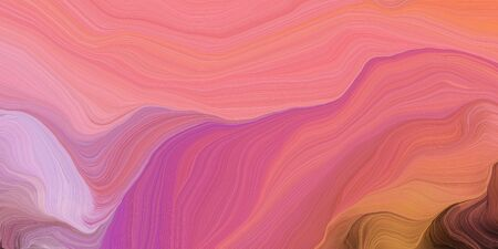 abstract colorful swirl motion. can be used as wallpaper, background graphic or texture. graphic illustration with pale violet red, brown and plum colors. Zdjęcie Seryjne - 133417902