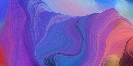 abstract fractal swirl motion waves. can be used as wallpaper, background graphic or texture. graphic illustration with slate blue, pale violet red and light pastel purple colors. Zdjęcie Seryjne - 133417913