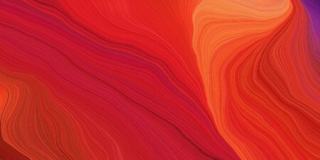 abstract fractal swirl motion waves. can be used as wallpaper, background graphic or texture. graphic illustration with firebrick, tomato and orange red colors. Zdjęcie Seryjne - 133417973