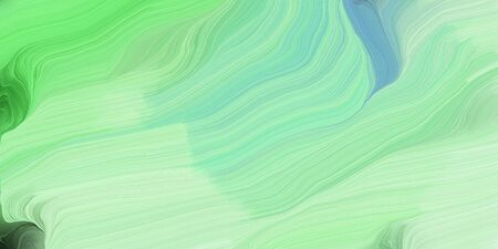 abstract colorful waves motion. can be used as wallpaper, background graphic or texture. graphic illustration with pale green, pastel green and lime green colors.