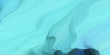 abstract colorful waves motion. can be used as wallpaper, background graphic or texture. graphic illustration with sky blue, dark slate gray and blue chill colors.
