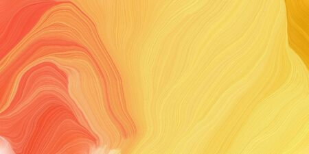 curved lines background or backdrop with pastel orange, tomato and coral colors. good as graphic element.