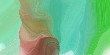 curved lines background or backdrop with medium aqua marine, tan and olive drab colors. good as graphic element.