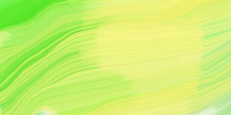 futuristic concept of curved motion speed lines with khaki, moderate green and yellow green colors. good as background or backdrop wallpaper.
