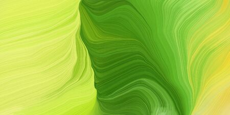 curved speed lines background or backdrop with dark khaki, moderate green and dark green colors. good for design texture.