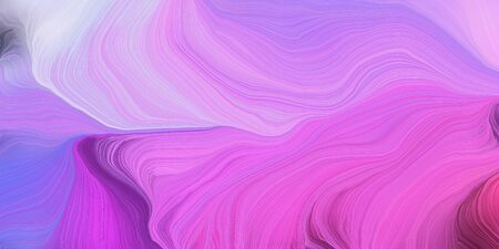 abstract design swirl waves. can be used as wallpaper, background graphic or texture. graphic illustration with orchid, lavender blue and dark moderate pink colors.