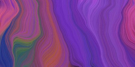 abstract fractal swirl waves. can be used as wallpaper, background graphic or texture. graphic illustration with antique fuchsia, brown and dark slate blue colors.