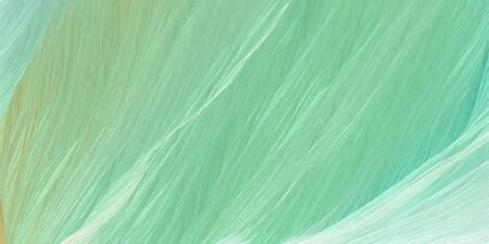 futuristic concept of curved motion speed lines with dark sea green, powder blue and lavender colors. good as background or backdrop wallpaper. 版權商用圖片