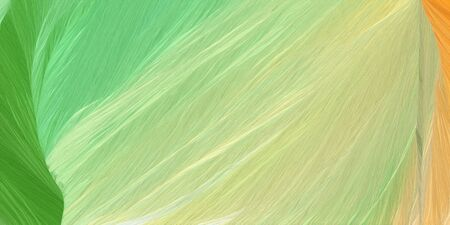futuristic wave motion speed lines background or backdrop with tan, olive drab and pastel green colors. dreamy digital abstract art.