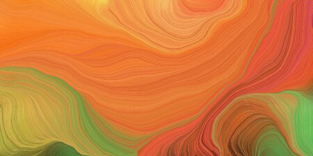 abstract fractal swirl motion waves. can be used as wallpaper, background graphic or texture. graphic illustration with bronze, olive drab and pastel brown colors.