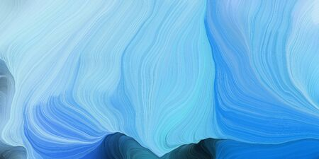 abstract colorful swirl motion. can be used as wallpaper, background graphic or texture. graphic illustration with sky blue, dark slate gray and dodger blue colors.