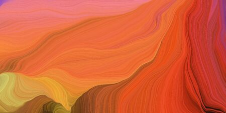 abstract colorful swirl motion. can be used as wallpaper, background graphic or texture. graphic illustration with coffee, light coral and dark red colors.