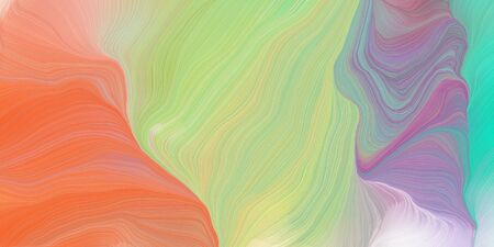 futuristic wavy motion speed lines background or backdrop with tan, indian red and medium turquoise colors. good as graphic element. Фото со стока