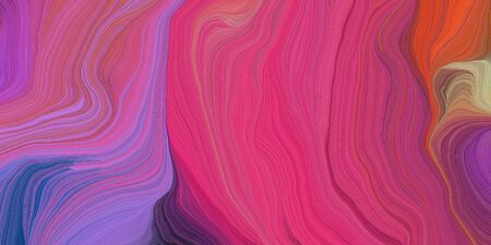 abstract colorful waves motion. can be used as wallpaper, background graphic or texture. graphic illustration with moderate pink, medium purple and dark slate blue colors.