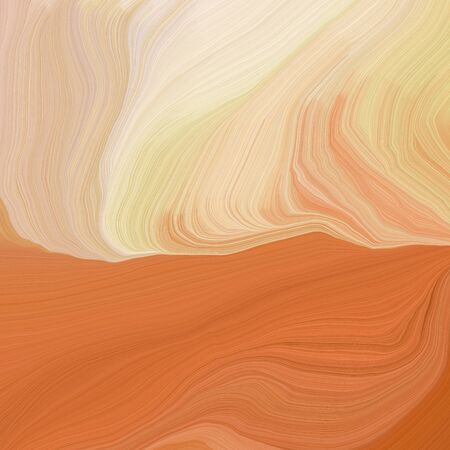 quadratic graphic illustration with wheat, burly wood and coffee colors. abstract colorful swirl motion. can be used as wallpaper, background graphic or texture. Фото со стока