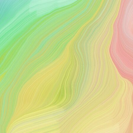square graphic illustration with burly wood, powder blue and medium aqua marine colors. abstract colorful swirl motion. can be used as wallpaper, background graphic or texture. Фото со стока