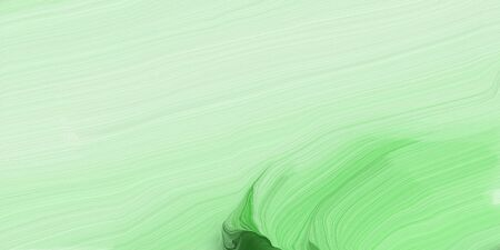 abstract colorful waves motion. can be used as wallpaper, background graphic or texture. graphic illustration with tea green, pastel green and sea green colors. Standard-Bild - 133418632