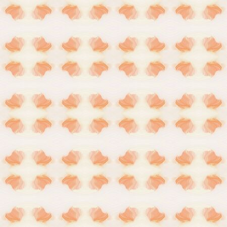 seamless abstract background with pattern and antique white, light salmon and linen colors. Banque d'images - 133825846