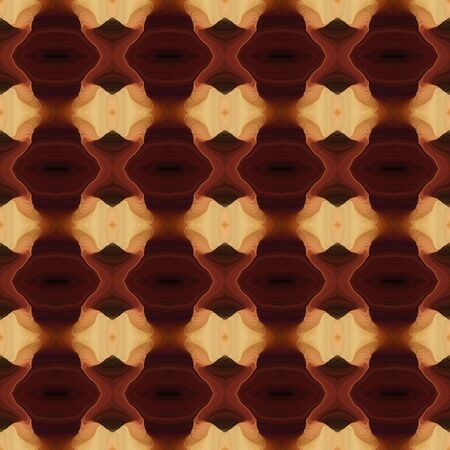 seamless abstract background with pattern and sandy brown, very dark pink and saddle brown colors. Banque d'images - 133825852