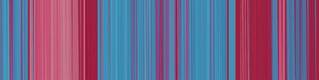 horizontal header banner with stripes and steel blue, mulberry  and dark moderate pink colors.