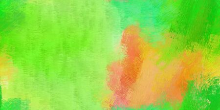 background pattern. grunge abstract background with yellow green, lime green and pastel orange color. can be used as wallpaper, texture or fabric fashion printing.