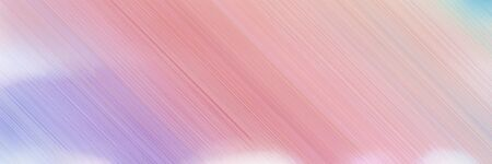 abstract digital banner background with thistle, baby pink and dark salmon colors and space for text and image.