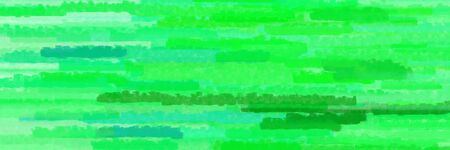 horizontal lines banner with vivid lime green, pale green and light green colors