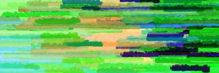 moderate green, pastel green and burly wood colors grunge banner background with horizontal strokes