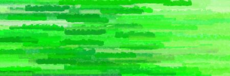 various horizontal lines banner with lime green, pale green and pastel green colors
