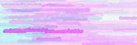 horizontal lines background graphic with lavender blue, violet and plum colors Banque d'images - 133825447