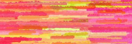 horizontal lines background graphic with salmon, pastel red and khaki colors Banque d'images - 133825611