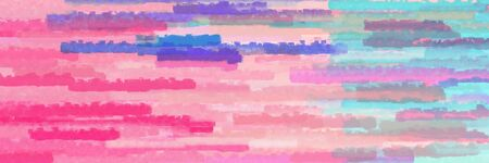 pastel magenta, corn flower blue and mulberry  colors grunge background graphic background with horizontal strokes Banque d'images - 133825690