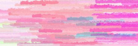 horizontal lines background graphic with pastel magenta, light pink and neon fuchsia colors Banque d'images - 133825696
