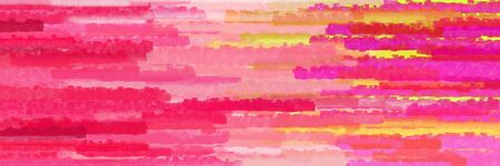 horizontal lines banner with moderate pink, burly wood and light coral colors Banque d'images - 133825708