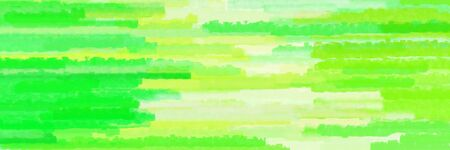 horizontal mosaic lines texture graphic with green yellow, pastel green and vivid lime green colors