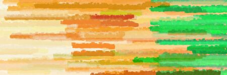various horizontal lines banner with burly wood, lime green and golden rod colors Stok Fotoğraf
