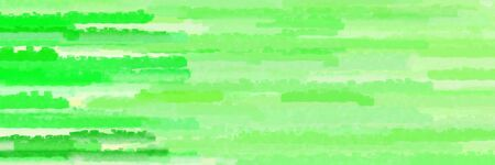 various horizontal lines banner with light green, pale green and vivid lime green colors
