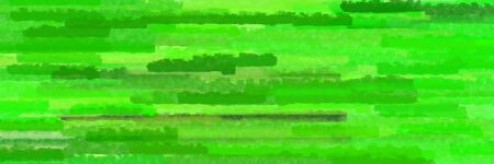 lime green, moderate green and forest green colors grunge texture graphic background with horizontal strokes Stok Fotoğraf
