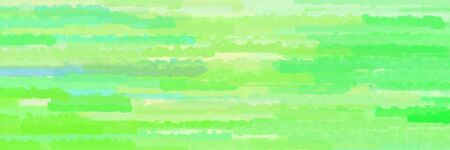 horizontal mosaic lines banner with light green, pale green and tea green colors