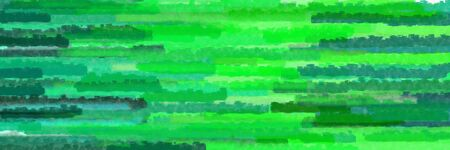 lime green, teal green and medium sea green colors grunge banner background with horizontal strokes
