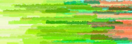 various horizontal lines graphic illustration with yellow green, lime green and tea green colors