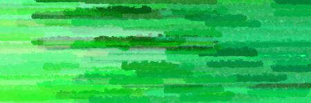 horizontal lines banner with medium sea green, lime green and light green colors Stok Fotoğraf