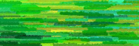 forest green, yellow green and moderate green colors grunge texture graphic background with horizontal strokes Stok Fotoğraf