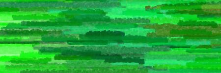 forest green, vivid lime green and medium sea green colors grunge texture graphic background with horizontal strokes