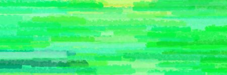 various horizontal stripes banner with vivid lime green, light green and aqua marine colors