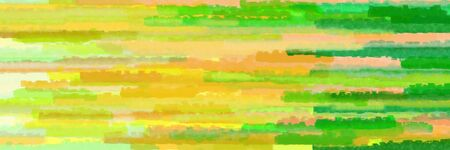 horizontal lines background graphic with dark khaki, lime green and pastel orange colors Stok Fotoğraf