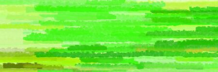 horizontal lines banner with lime green, khaki and green yellow colors Stok Fotoğraf
