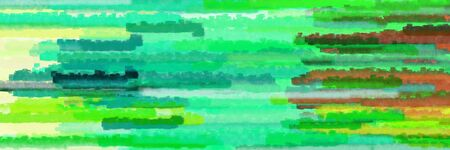 horizontal lines texture graphic with medium sea green, tan and lime green colors