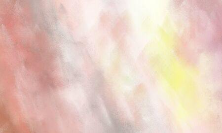 abstract watercolor painted background with baby pink, rosy brown and tan color and space for text